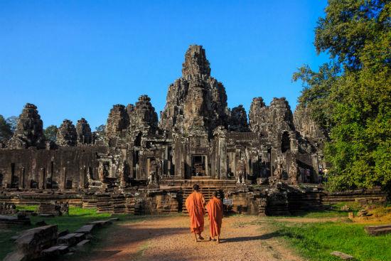 Đền Bayon - Siem Reap