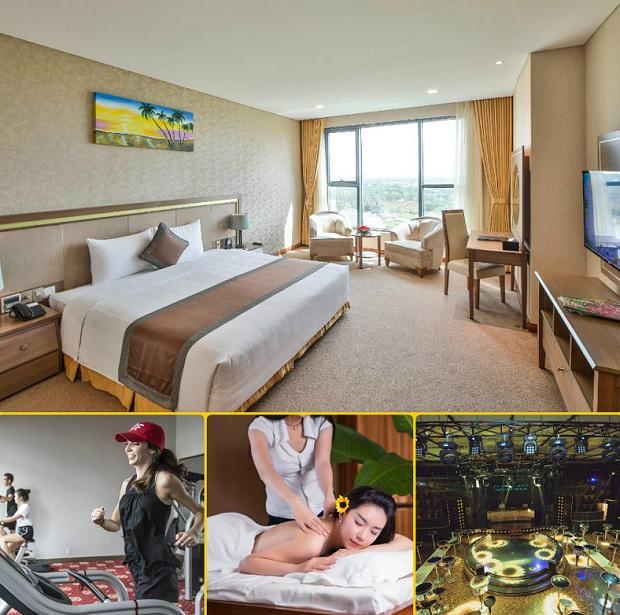 Khách sạn có nội thất và dịch vụ tiện nghi, chất lượng