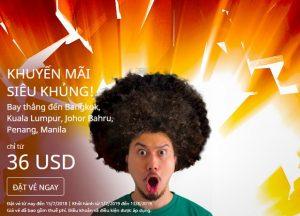 AirAsia – Chỉ từ 36 USD có ngay cơ hội khám phá Thái Lan, Malaysia và Philippines