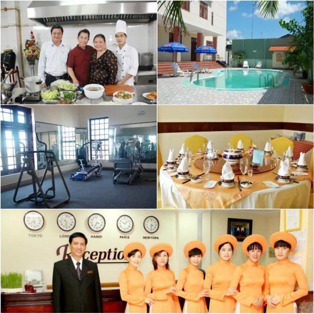 Khách sạn Hàm Luông là địa chỉ nhiều du khách lựa chọn khi đến Bến Tre