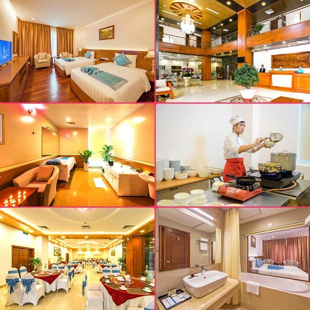 Phòng nghỉ Khách sạn Lam Giang Nghệ An