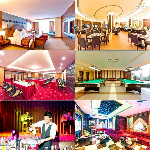 Dịch vụ, tiện ích Khách sạn Mường Thanh Luxury Sông Lam
