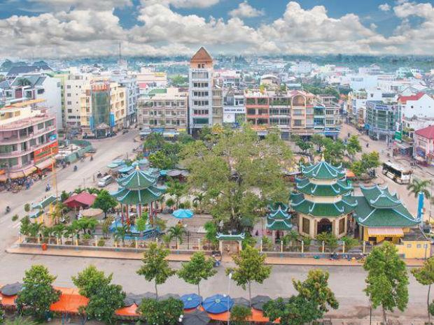 Châu Đốc là nơi tập trung nhiều khách sạn nhất An Giang
