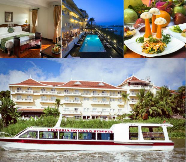 Thiết kế của khách sạn Victoria An Giang