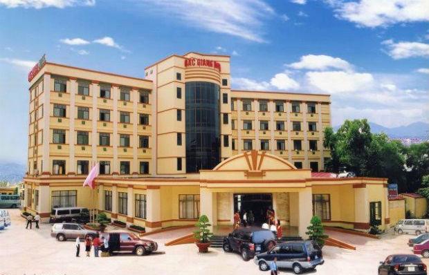 Khách sạn Bắc Giang nằm ở trung tâm Bắc Giang