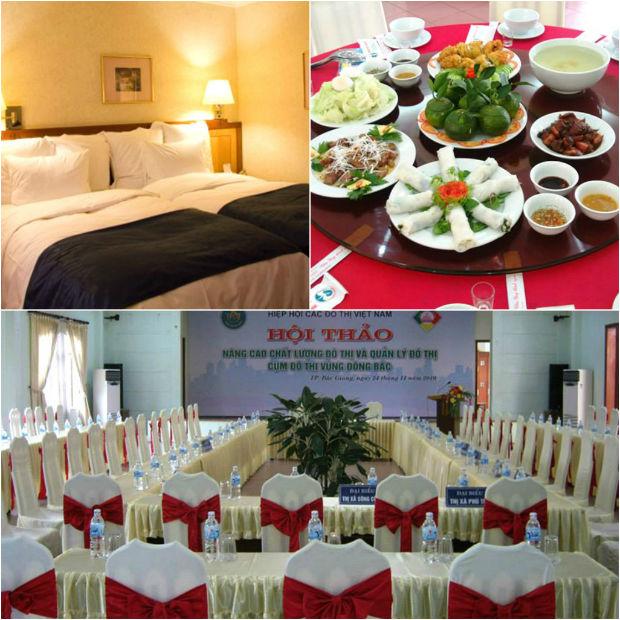 Sự phục vụ chuẩn mực tại khách sạn Bắc Giang