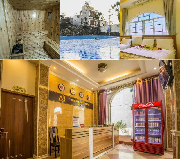 Khách sạn An Bình Super với đầy đủ tiện nghi