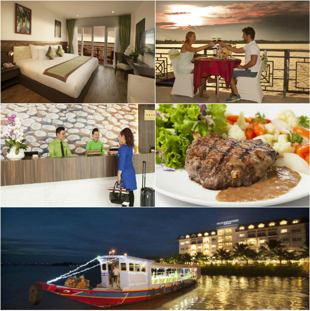 Tiện nghi tuyệt vời Ben Tre Riverside Resort