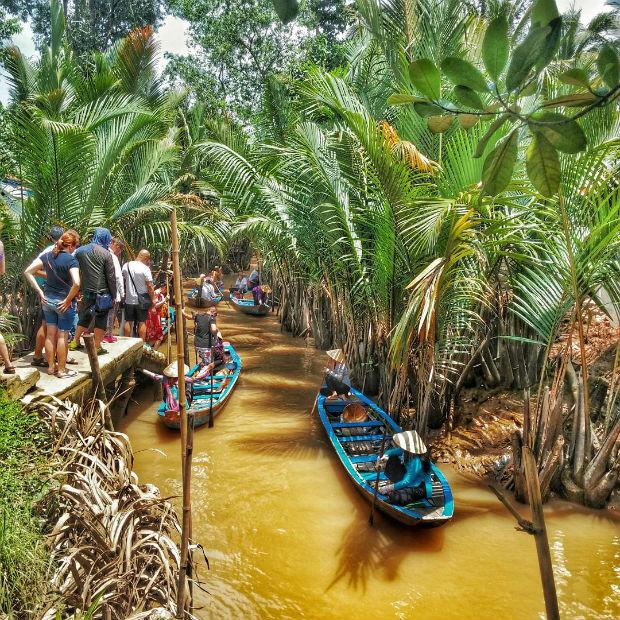 Xách balo lên - Kiếm một khách ở Bến Tre - Ở lại và tận hưởng cuộc sống sông nước