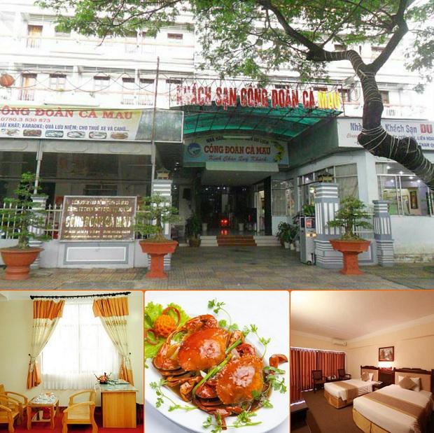 Khách sạn Công Đoàn là khách sạn nên ở tại Cà Mau