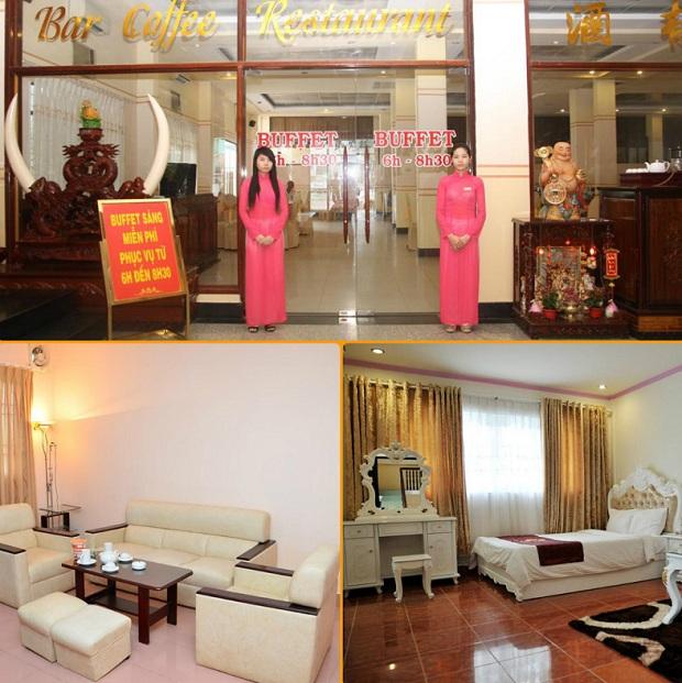 Chất lượng dịch vụ tốt tại Khách sạn Quốc Tế Cà Mau