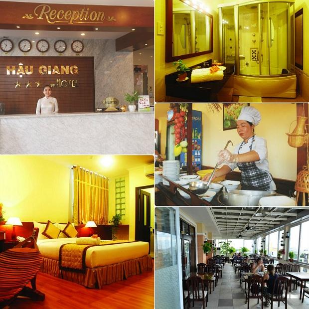 Một số dịch vụ nổi bật tại khách sạn Hậu Giang