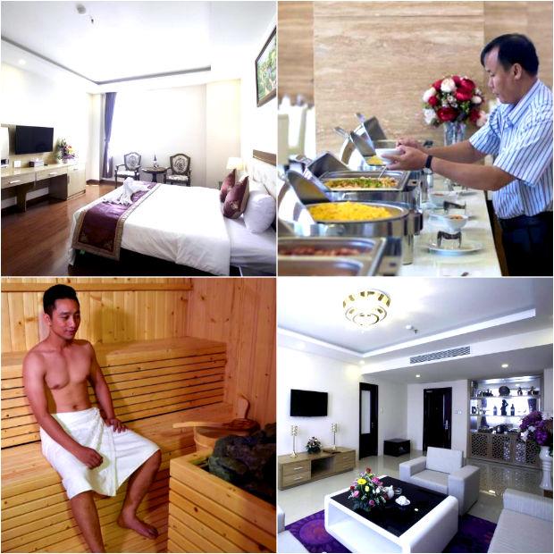 Tiện nghi sang trọng khách sạn Khánh Linh Gia Lai