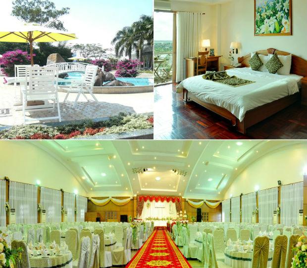 Nội thất sang trọng của khách sạn Hoàng Anh Gia Lai