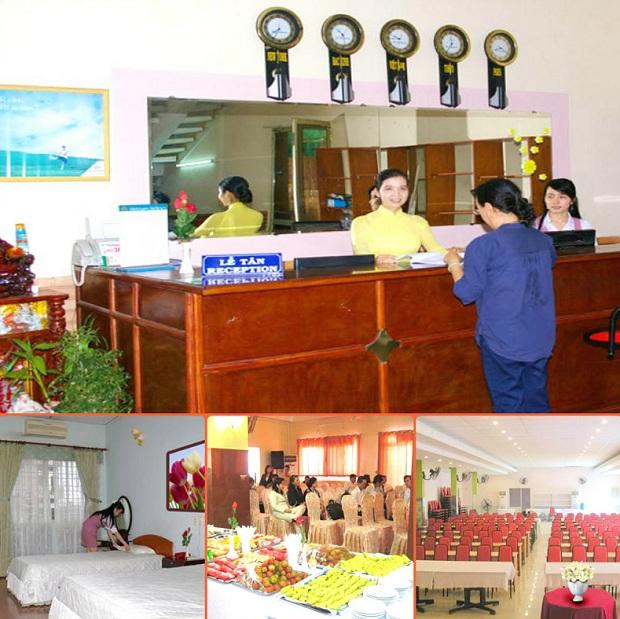 Khách sạn Bông Sen có các dịch vụ tốt