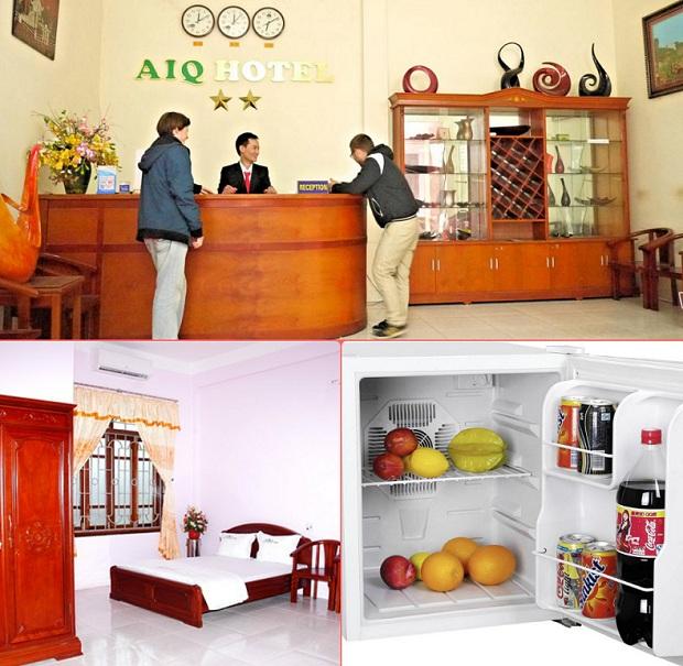 Tiện nghi đầy đủ Khách Sạn AIQ Ninh Bình