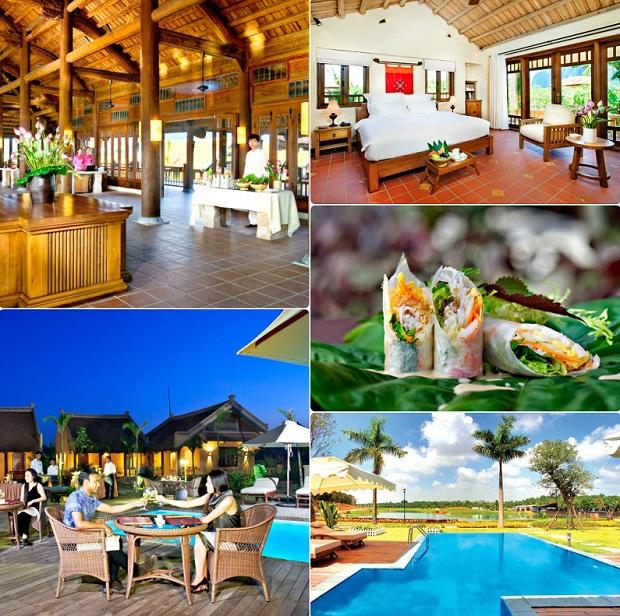Tiện ích Emeralda Resort Ninh Bình