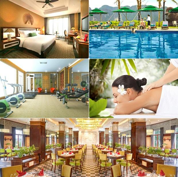 View và dịch vụ Ninh Bình Hidden Charm Hotel & Resort