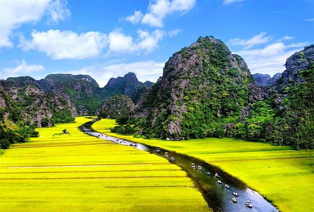 Du lịch rất đẹp tại Ninh Bình