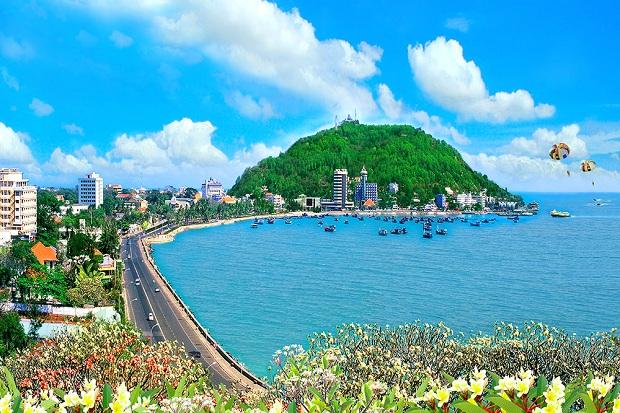 Bãi trước là nơi tập trung nhiều khách sạn nhất tại Vũng Tàu