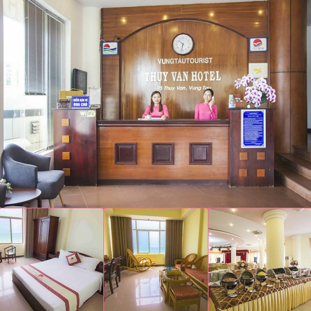 Dịch vụ của khách sạn Thùy Vân rất ổn