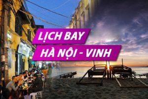 Lịch bay từ Hà Nội đi Vinh Vietnam Airlines
