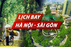 Thời gian bay từ Hà Nội vào Sài Gòn mất bao lâu?