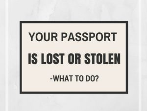Thủ tục làm lại hộ chiếu khi bị mất