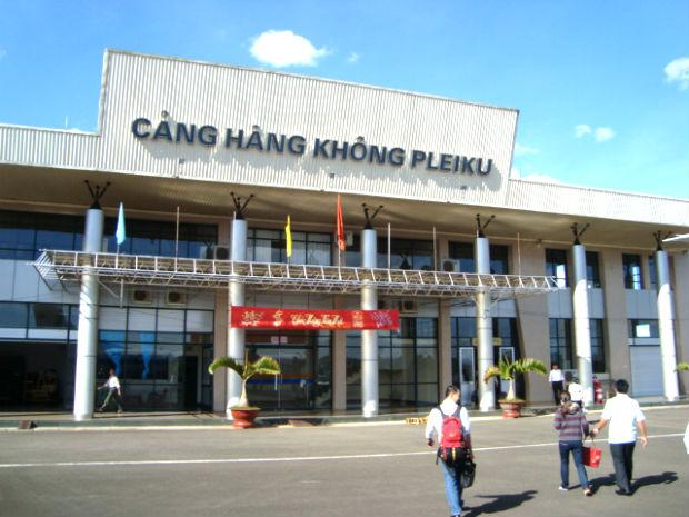 Thông tin sân bay tại Pleiku