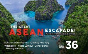 Cùng AirAsia khám phá Đông Nam Á chỉ từ 36 USD