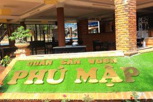 Quán ăn sân vườn Phú Mập – Quán ăn NGON – RẺ nhất tại Buôn Mê Thuột
