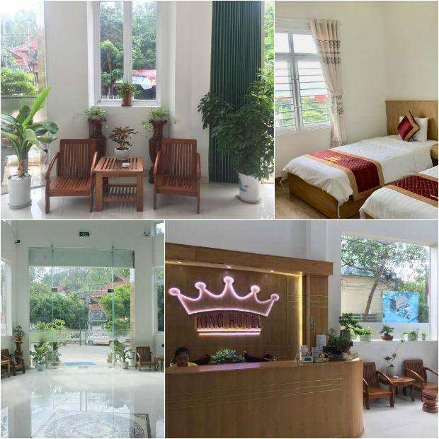 Phòng ốc đẹp và sạch sẽ tại Khách sạn King
