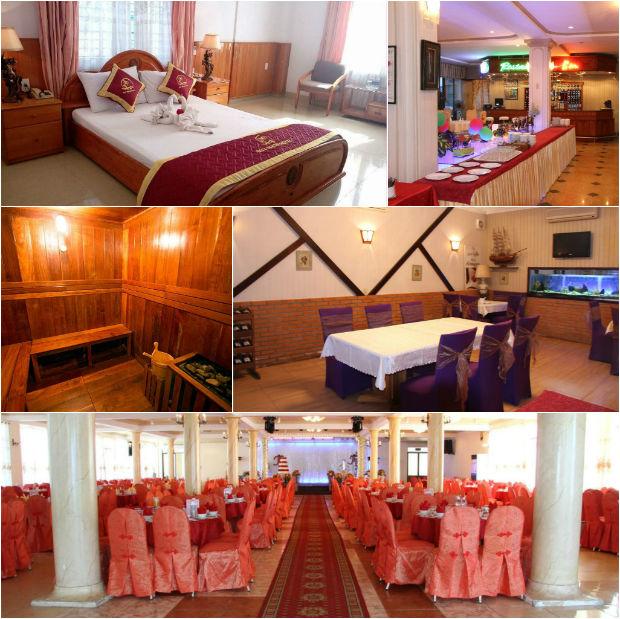 Tiện nghi, sạch sẽ là những điểm cộng của khách sạn Quy Nhơn