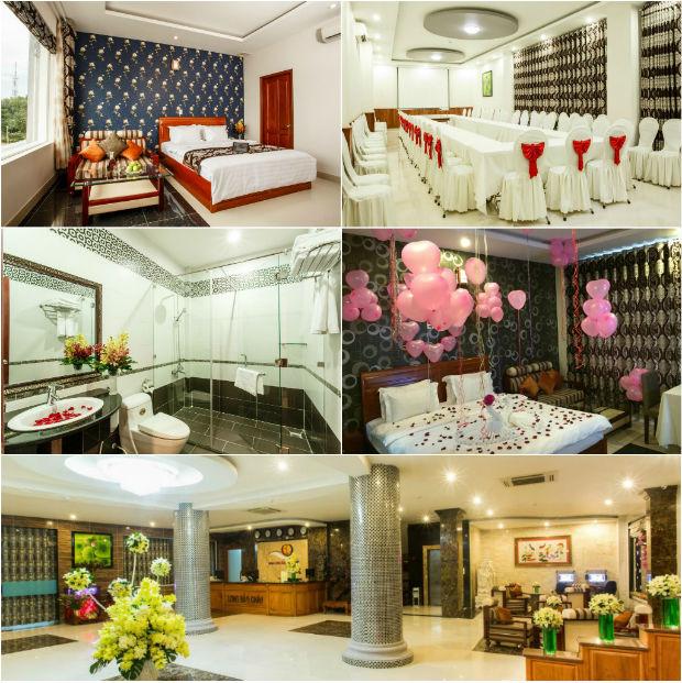 Khách sạn Long Bảo Châu hiện đại và sang trọng