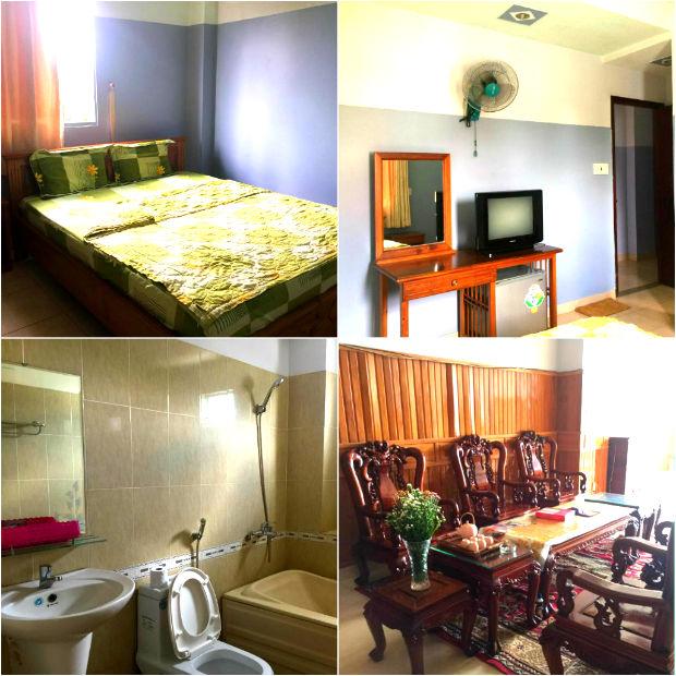 Khách sạn Thịnh Sâm với mức giá rẻ