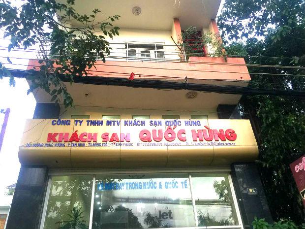 Khách sạn Quốc Hùng Bình Phước