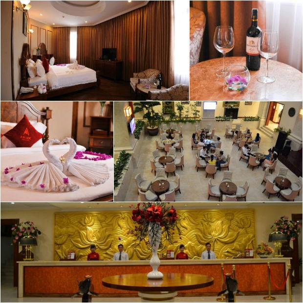 Khách sạn An Lộc khá đầy đủ tiện nghi