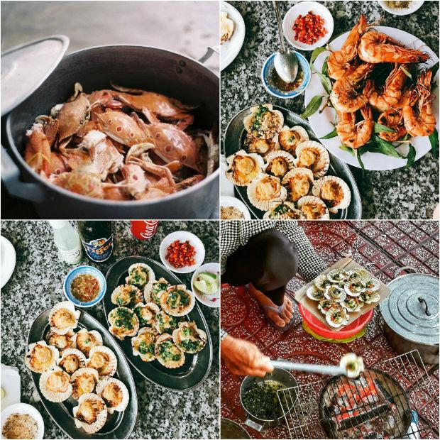 Đến khách sạn Bình Thuận và tận hưởng hải sản tươi ngon