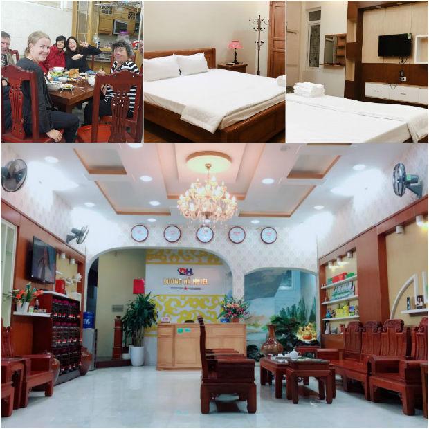 Khách sạn Dương Hà Cao Bằng tiện nghi, sạch sẽ