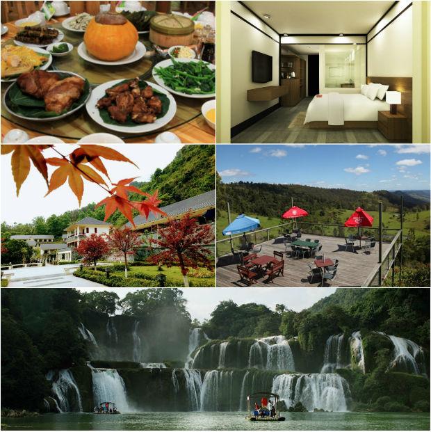 Kiến trúc nghỉ dưỡng hòa vào thiên nhiên tại Resort Sài Gòn Bản Giốc