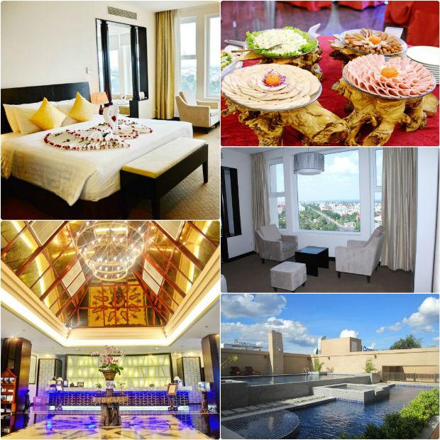 Bài trí hiện đại và đẹp của Khách sạn Sài Gòn Ban Mê Đắk Lắk