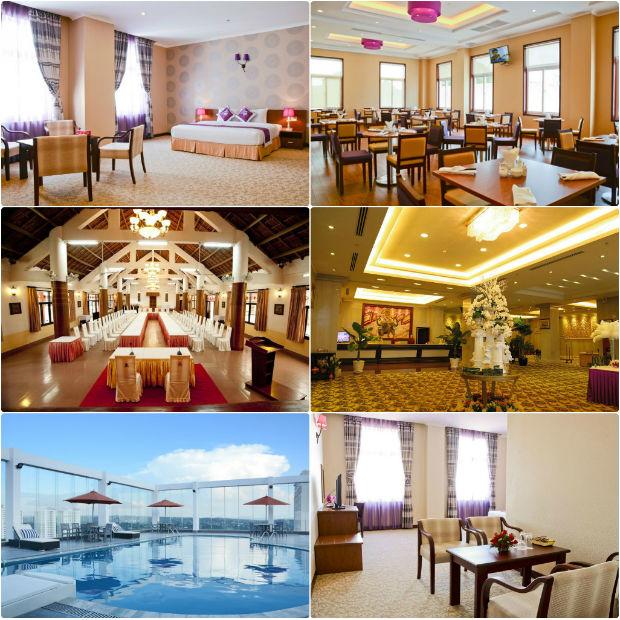 Khách sạn Hai Bà Trưng Đắk Lắk bài trí rộng rãi và ấn tượng
