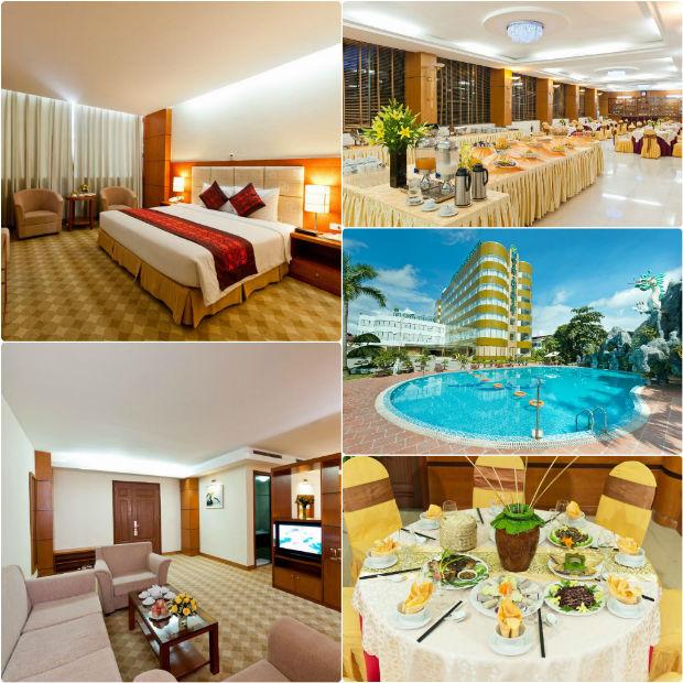 Phòng ốc chuẩn 4 sao tại Khách sạn Mường Thanh Holiday