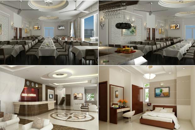 Khách sạn Hoa Cương tại Hà Giang với phong cách hiện đại
