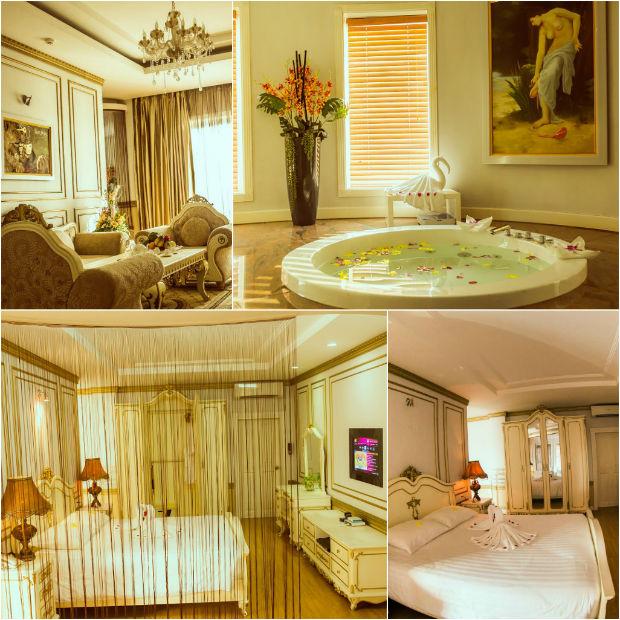 Khách sạn White Palace Hà Tĩnh đẹp đẽ và sang trọng