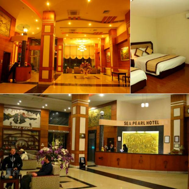 Đại sảnh Khách Sạn Sea Pearl Hải Phòng