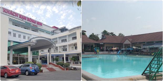 Khách sạn Bông Sen Hậu Giang có hồ bơi