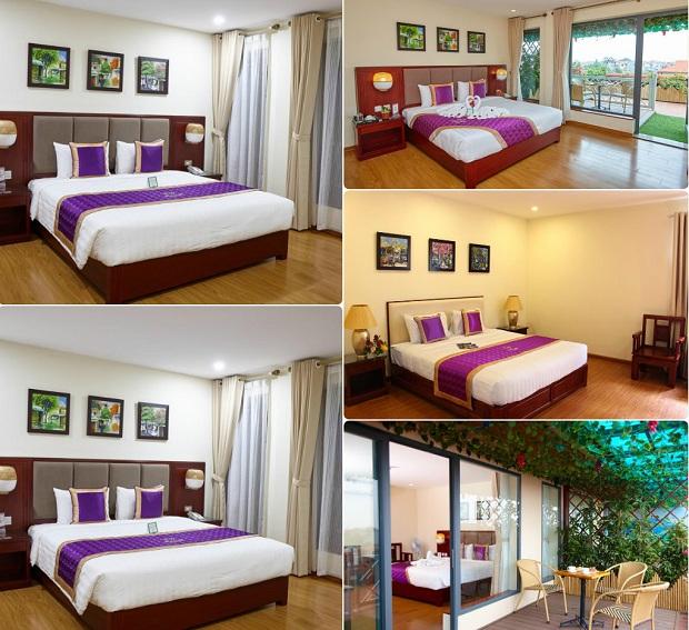 Phòng ở sang trọng và cao cấp tại Khách sạn Phú Mỹ Hưng Yên