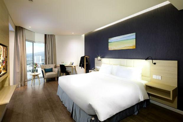 Phòng ngủ của Khách sạn Liberty Central Nha Trang
