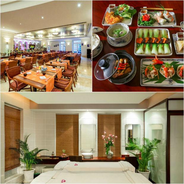 Dịch vụ tại Sunrise Nha Trang Beach Hotel&Spa